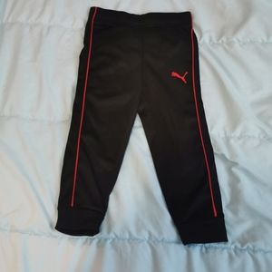 Puma joggers size 4T, never wear